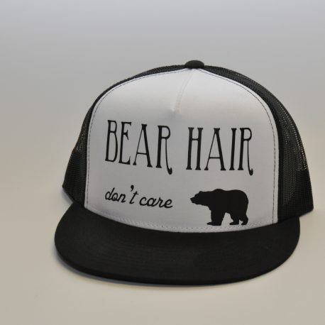 Bear Hair Dont Care - Black