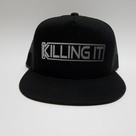 Black on Black - Killing It Hat - Silver