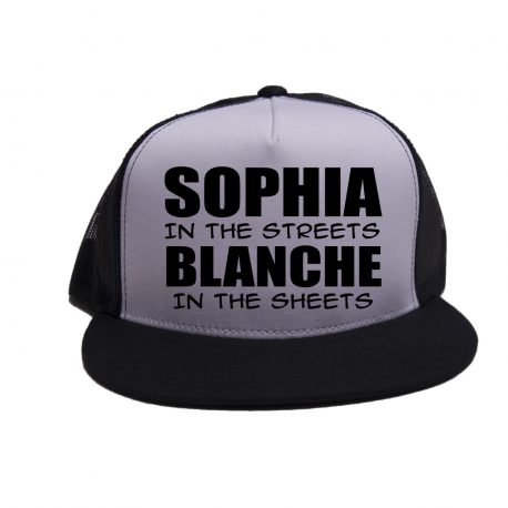 White on Black - Sophia in the Streets - Black