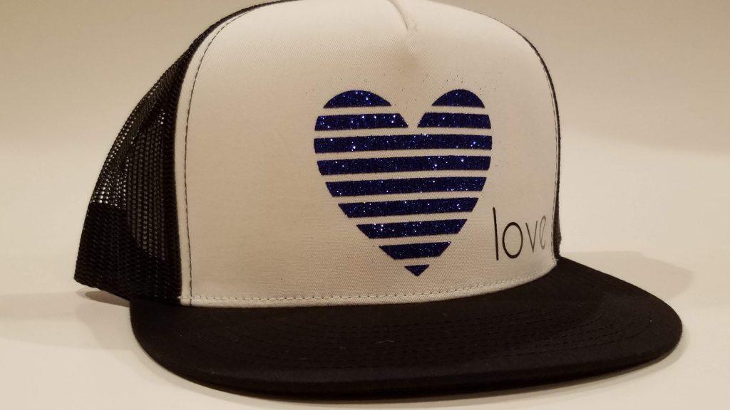 Pretty-much-gone-custom-snapback-hats-heart-love