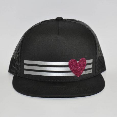 Pretty-much-gone-custom-snapback-hats-blank-three-line-hearts