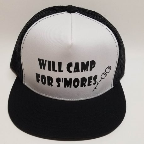 Pretty Much Gone Will Camp for Smores Hat